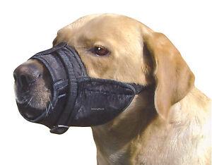 Nylon Pet Dog Muzzle Safety XS Small Medium Large
