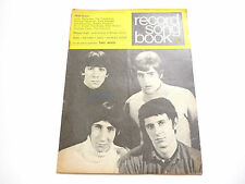 Record Song Book Magazine 1-7-1968 The Who on Cover Engelbert rear.