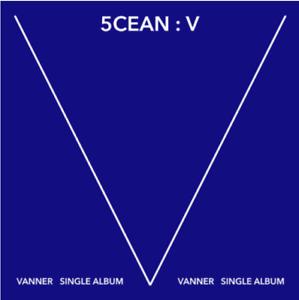 """K-POP VANNER Mini Album """"5cean: V"""" [ 1 PHOTOBOOK + 1 CD ]"""