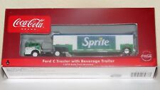 Athearn Coca Cola 8237 Sprite Ford & Sprite Beverage Trailer-Super RARE--New HO