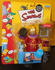 The Simpsons World of Springfield Series 10 Stonecutter Homer Action Figure NIB