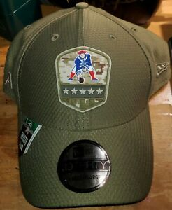 New England Patriots NFL New Era L/XL Flex Salute to Service 2019 Hat Cap NWT