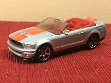 Matchbox 2007 Shelby GT 500 Grey Orange  Convertible 1/64 Scale diecast Ford