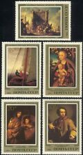 Russia 1983 Cranach/Mengs/Schonfeld/Art/Artists/Paintings/Painters 5v set n44643