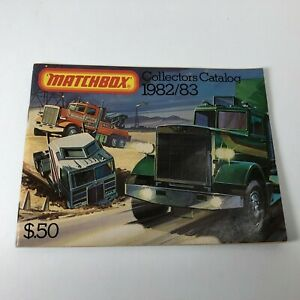 Vintage MATCHBOX COLLECTORS CATALOG 1982/83 Great Condition (50 Cent)