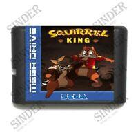 Squirrel King 16 bit MD Game Card For Sega Mega Drive For Genesis