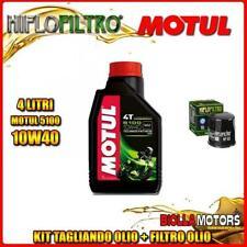 KIT TAGLIANDO 4LT OLIO MOTUL 5100 10W40 YAMAHA FZS1000 Fazer 5LV,1C2 1000CC 2001