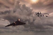 RAF 44 & 50 Squadron Vulcan Bomber pilot Adrian Sumner signed photo IMAGE No3