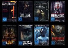 DVD -Sammlung  - 8 x Horror - neu - DVD-Paket - Restposten!!
