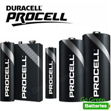 Duracell AA AAA 9V C D Procell Batteries Alkaline was Industrial LR6 LR03 PP3
