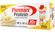 Premier Protein High Protein Shake, Bananas & Cream (11 fl. oz., 12 pack)
