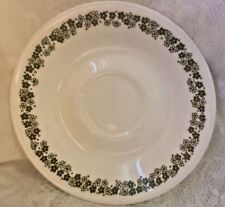 """Vintage  Corelle Corning Crazy Daisy Spring Blossom Flowers 6 1/4"""" Saucer Plate"""