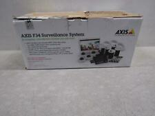 Axis F34 4-Dome Camera Security System