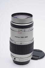 Pentax AF 100-300mm f4.7-5.8 SMC FA Lens Silver                             #868