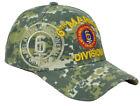 U.S 6th Marine Division DIV Digital Camouflage Camo Hat Cap Curved Bill Adjs
