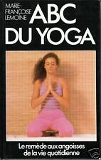 Livre  ABC du Yoga Marie-Françoise Lemoine book