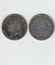Gertbrolen 1 Franc   Argent Louis XVIII 1824 Lille