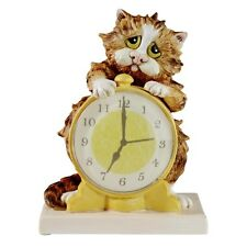 Comic & Curious Cats Morning Call Cat Figurine NEW  21435