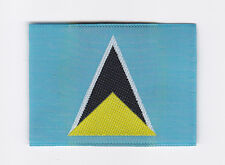 SCOUTS OF WEST INDIES - ST. LUCIA SCOUT NATIONAL FLAG Patch