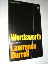 LAWRENCE DURRELL.WORDSWORTH.1ST S/B PENGUIN 1973