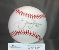 Frank Thomas Signed Jsa Authenticated American League Baseball Autograph
