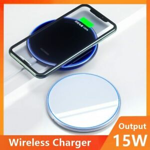 15W Universal Qi Wireless Charger For IPhone Wireless Charging Pad For Samsung X