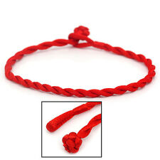 SEXY SPARKLES 5-Pack Kabbalah Red Strings Braided Bracelet for Good Luck,Wealth