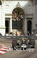 Ronnie Peterson JPS Lotus 72E Winner Monaco Grand Prix 1974 Photograph 1