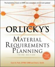 Orlicky's Material Requirements Planning, Third Edition