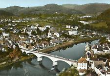 Carte ARGENTAT Vue générale aérienne Pont sur la Dordogne