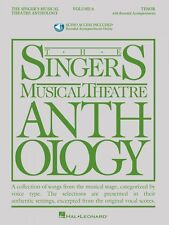 The Singer's Musical Theatre Anthology Volume 6 Tenor Book Online Audi 000145266