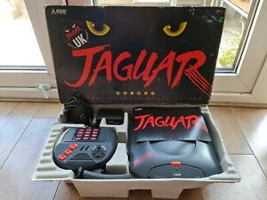 Boxed Tested Fully Working Atari Jaguar Console Complete with Cybermorph