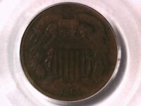 1865 Two Cent PCGS VG 08 12607968