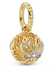 Pandora Shine Charm Openwork Butterfly Dangle 367896 Silber/18K Gold ALE