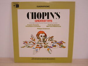 LP /  Chopin – Chopin's Greatest Hits / Quadraphonic / MINT / 1973 / RARITÄT /