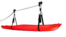 KAYAK + CANOE LIFTING and STORAGE HOIST with LIFTING STRAPS - 120 LBS (54kgs)