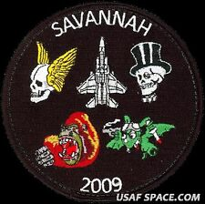 USAF 85th TEST & EVALUATION SQUADRON -SAVANNAH 2009- F-15 -ORIGINAL GAGGLE PATCH