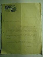 LA VOCE DELLE MAESTRE D'ASILO - MILANO 1934 -LETTERA RICHIESTA DI BENEFICENZA