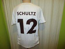 FC St.Pauli Original Auswärts Trikot 2007/08 + Nr.12 Schultz + Signiert Gr.M Neu
