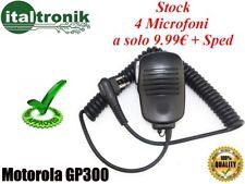 KIT 4 MICROFONI SPEAKER PER PORTATILI MOTOROLA GP300 E SIMILARI 0c62d03d78ca
