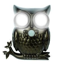 Hooting Owl Decorative Super Bright LED Motion Sensor Light With Sound