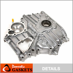 Fit 89-94 Mazda MPV B2600 2.6L SOHC Oil Pump/Timing Cover G6