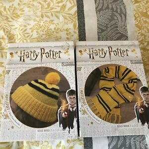 Harry Potter Hufflepuff Knit Your Own Hat & Scarf Kits