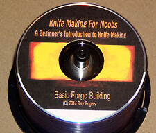 Forge Building for New Knife Makers - DVD  (knives,forges,forging,blacksmithing)