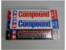 TAMIYA Model Polishing Compound Combo Set Coarse Fine Finish 87068 87069 87070