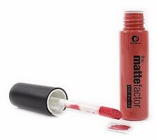 PEACH Matte Factor Lip Paint MINERS Cosmetics Lipstick Make up Lips NEW UK