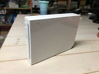 Nintendo Wii SYSTEM CONSOLE Only White RVL-001 Gamecube Compatible FULLY TESTED