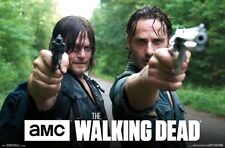 THE WALKING DEAD ~ DOUBLE BARREL DUO ~ 22x34 TV Poster ~ NEW/ROLLED!