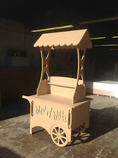 Wedding Candy Cart Sweet Party- Cart Fully Collapsible can be personalised