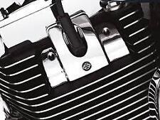 Harley twin cam touring softail dyna chrome headbolt bridge spark plug cover